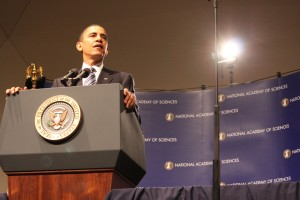 President Obama addresses NAS