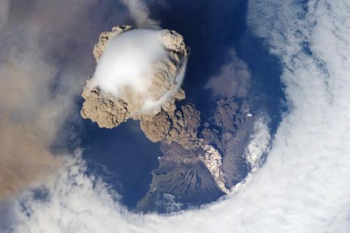 Sarychev Eruption