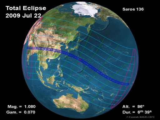 Post image for 2009 Total Solar Eclipse