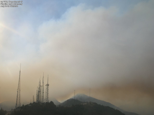 Post image for Mt. Wilson Observatory Threatened By Wildfire